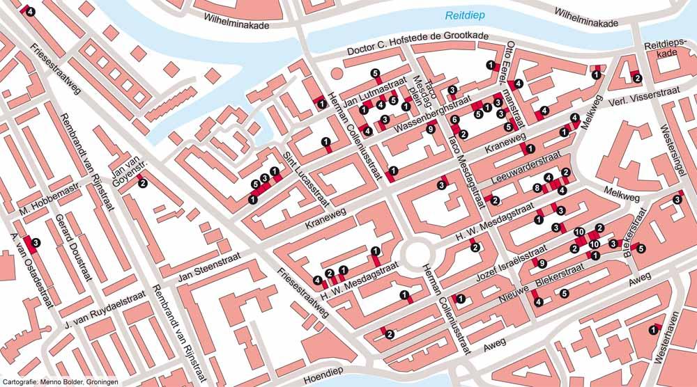 stolpersteine_kaart